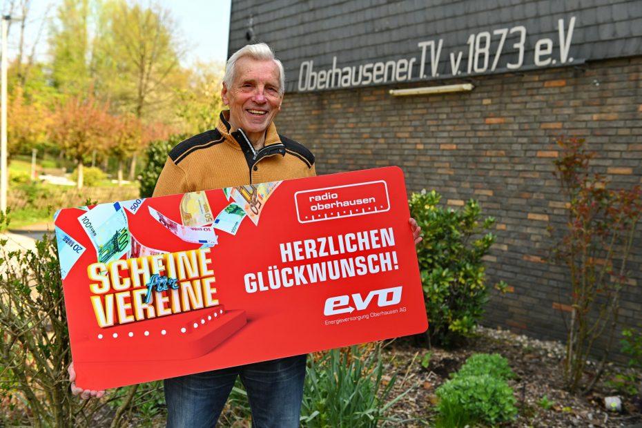 Radio Oberhausen - Scheine für Vereine - OTV gewinnt 2000 Euro